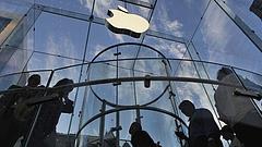 Rekordmagasságba emelkedett az Apple árfolyama