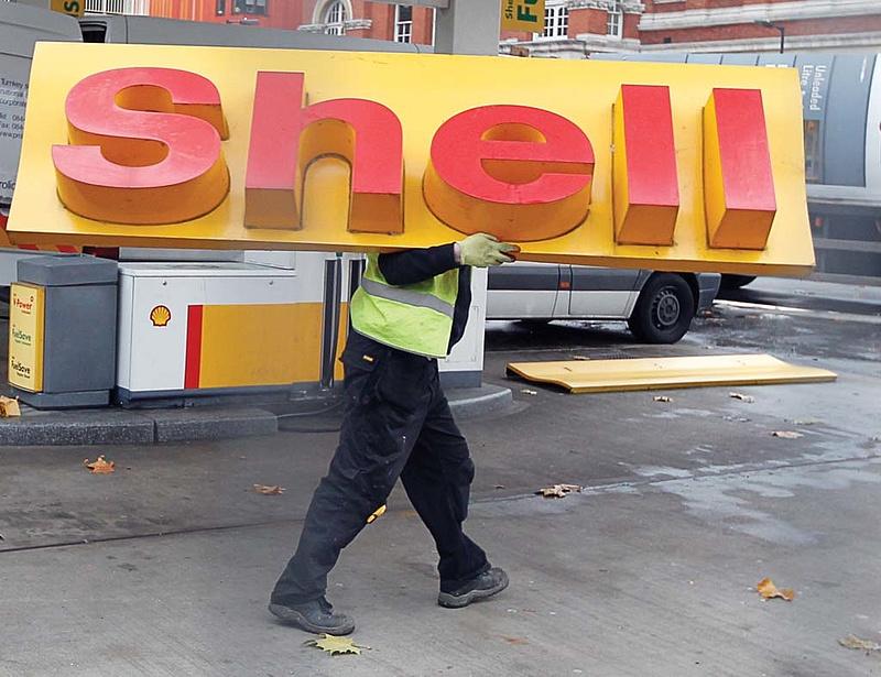 Bevásárolt a Shell