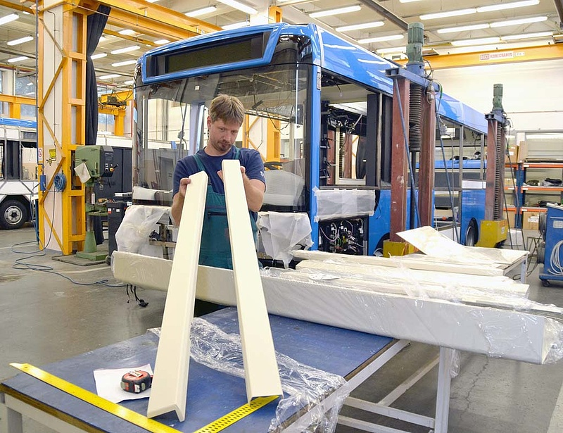Bajban van a debreceni buszgyártás