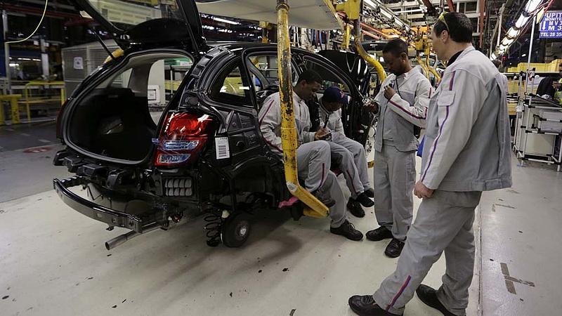 Nagy visszaesés a francia járműgyártónál