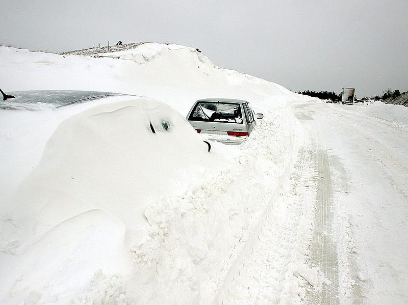 Jön a hó - Több megyére figyelmeztetést adtak ki