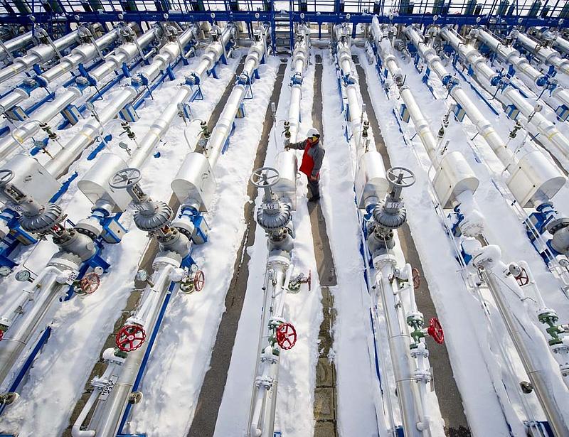 Ukrajna nem fizet előre az orosz gázért