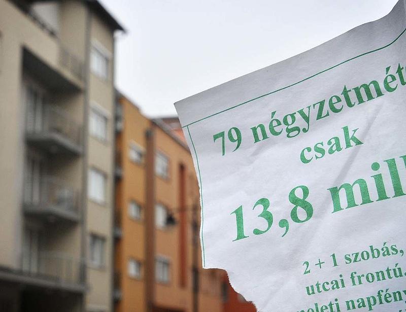 Csak átmenetileg emelkedett a használt lakások ára