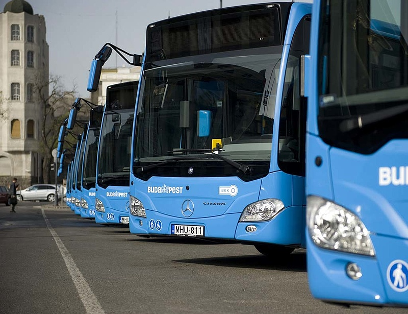 Igen kapósak az új fővárosi buszok
