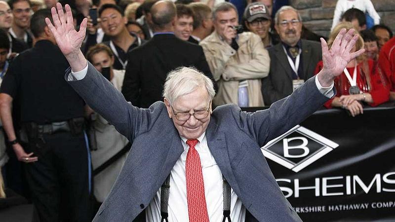 Végre Buffet is belépett a 100 milliárdosok klubjába