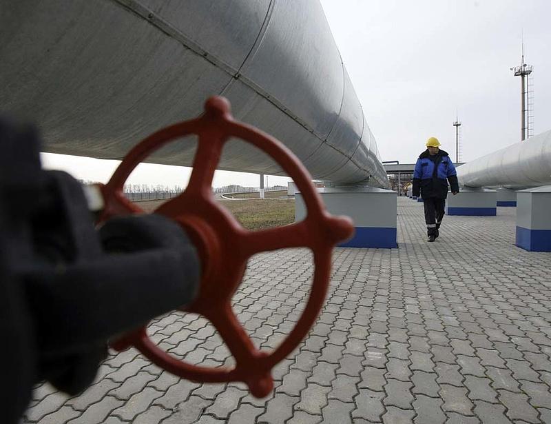 Kevesebb orosz gáz jön Ukrajnán keresztül