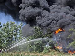 Szeméthegyek lángolnak Szeged közelében