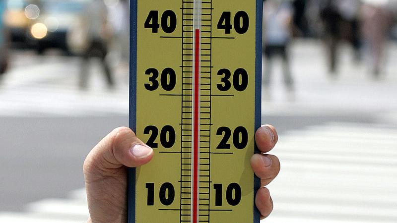 Hőségriasztás adott ki az OMSZ