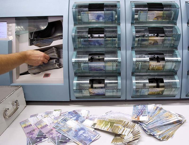A svájci jegybank fenntartja az árfolyamküszöböt