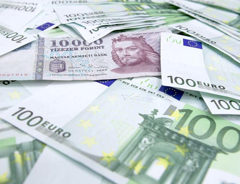 Kissé gyengült a forint az euróval szemben - Napi.hu f8df364f03