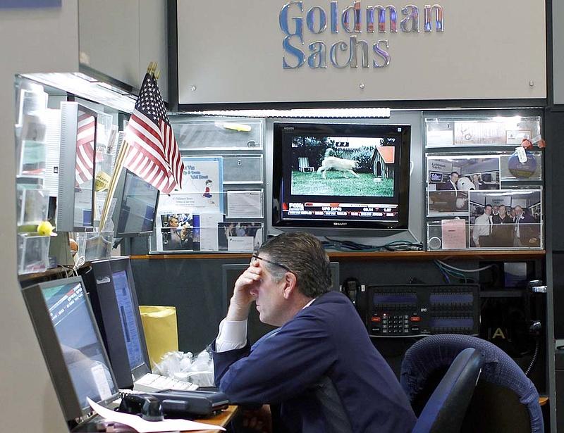 Egy év alatt 82 százalékkal drágult a Goldman Sachs részvénye