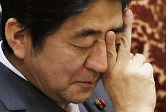 Tragikus fordulat érlelődik Japánban