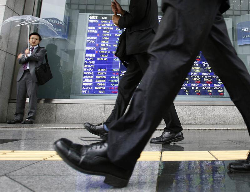 Egyre kisebb a japán gazdaság