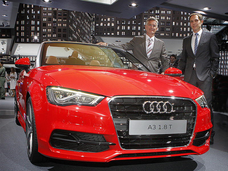 Rekordot döntött a győri Audi-gyár