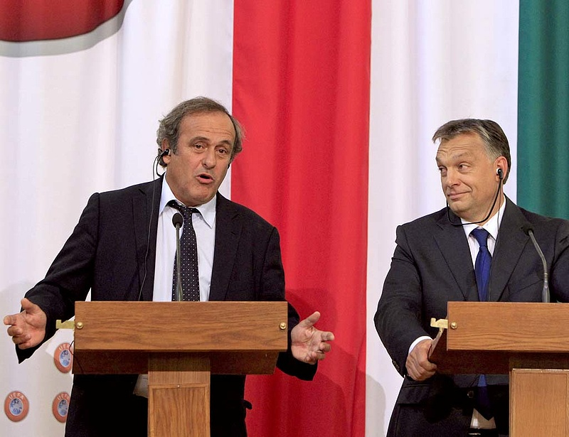 Platini szerint jó döntést hozott Blatter