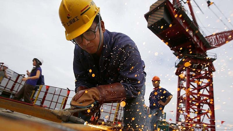Lassult a kínai GDP-növekedés