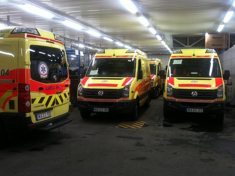 Rengeteg új mentő áll forgalomba - ismét a finnek nyertek