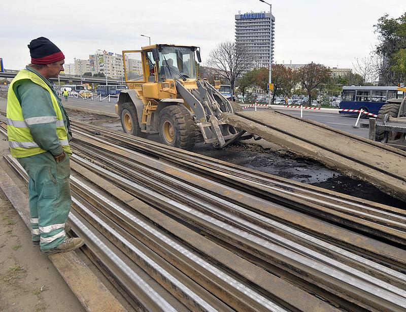 Újabb villamospálya-felújítás jöhet a BKV-nál - íme a nyertes cég