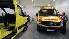 Új mentőautók érkeznek, nem is kevés