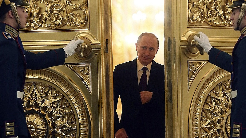 Putyin nagyon bedurvult