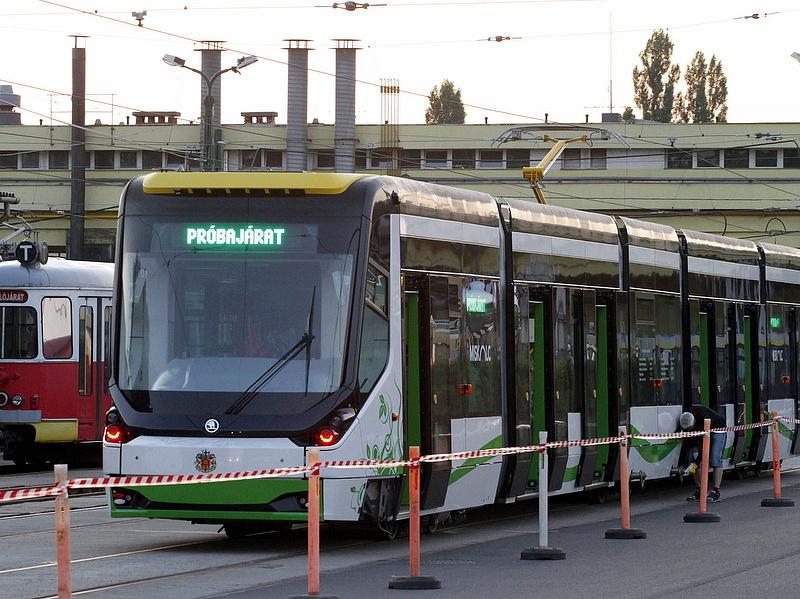 Forgalomba állt az első Skoda villamos