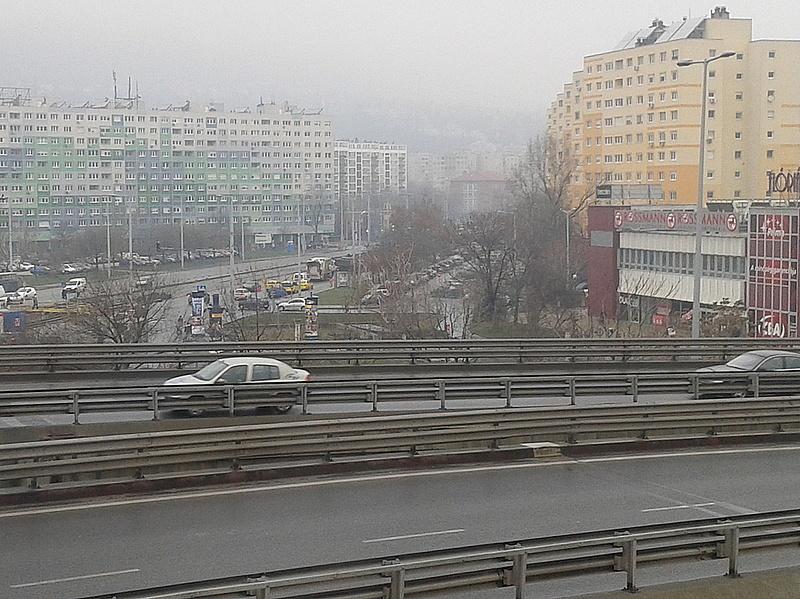 Már nincs szmogriadó Budapesten