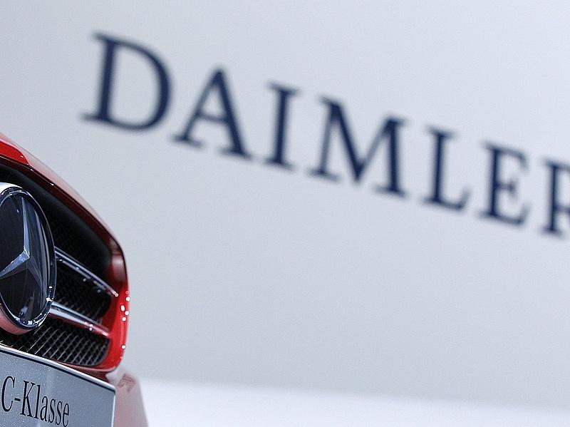 A Daimlernél nem találtak magas emissziós értékeket