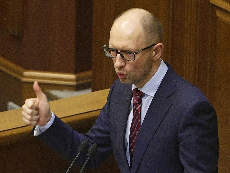 Rezsiemelést jelentett be az ukrán miniszterelnök