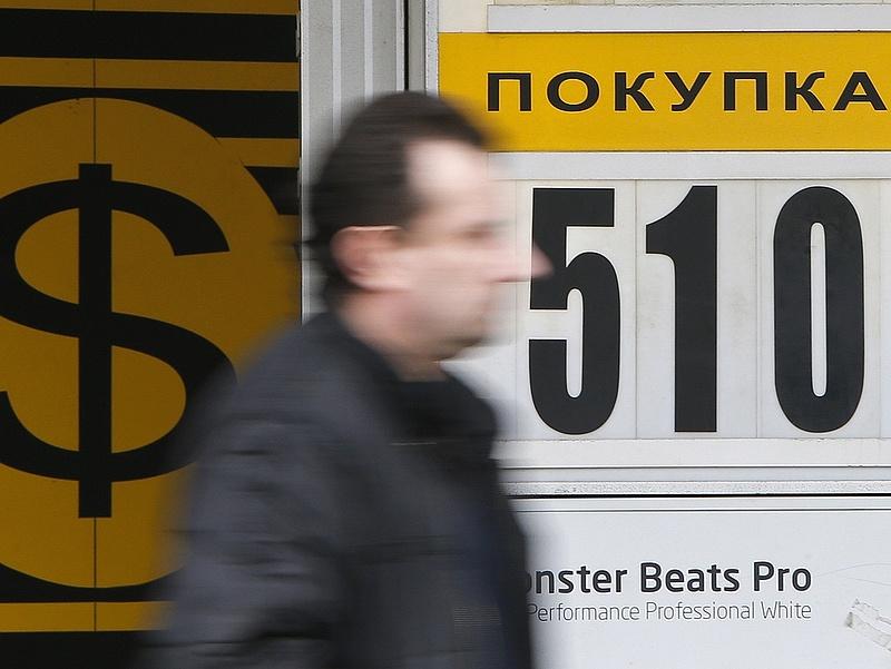 Szabadulnak az oroszok a rubeltől