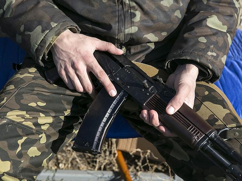 Lelőttek egy orosz határőrt az ukrán határnál
