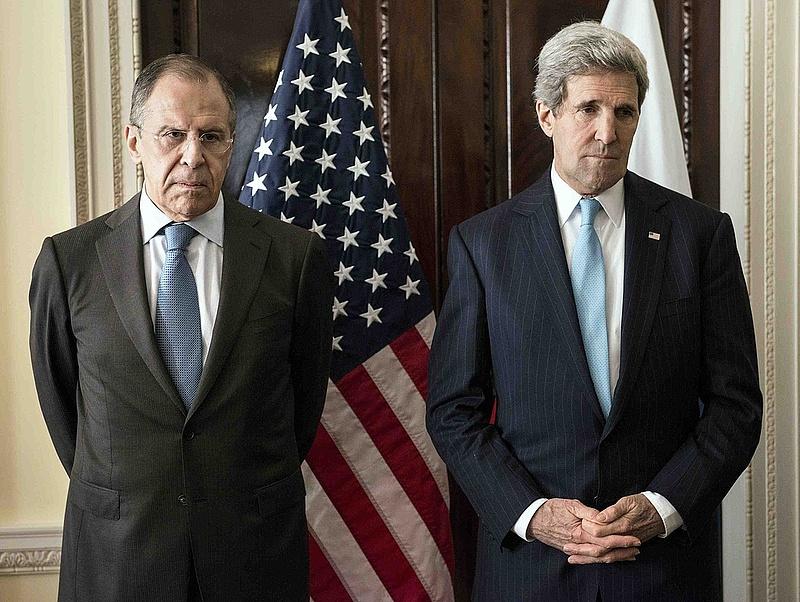 Amerikai-orosz külügyi csúcs Zürichben