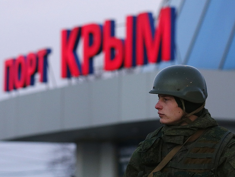 Lépett az orosz jegybank - Betiltották az ukrán bankok működését Krímben