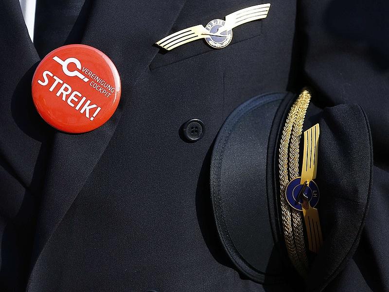 Tovább bonyolódik a Lufthansa-sztrájk