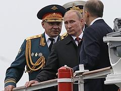 Putyin a Krímbe látogatott