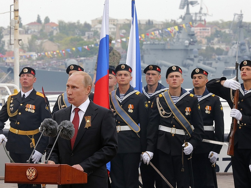 """Putyin: Krím \""""visszatérése\"""" történelmi igazságtétel"""