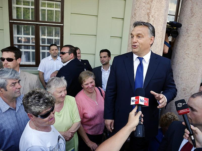 Orbán megmondta, mit nem szabad támogatni