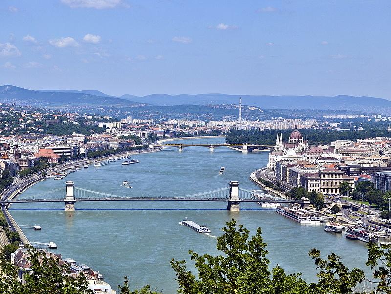 Budapest ebben is nagyon ott van