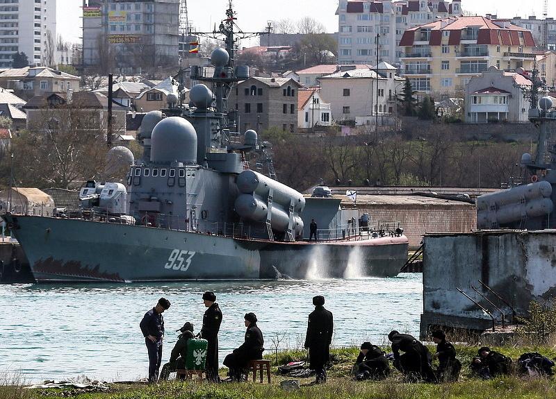 """Orosz \""""logisztikai\"""" hadgyakorlat zajlik a Krím félszigeten"""