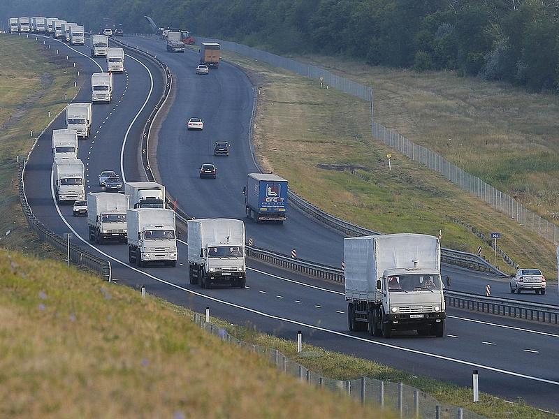 Újabb orosz segélykonvoj lépte át az ukrán határt