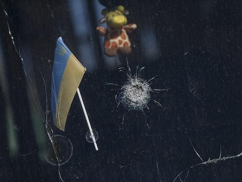 Robbanás az Ukrajna egységéért tartott tüntetésen