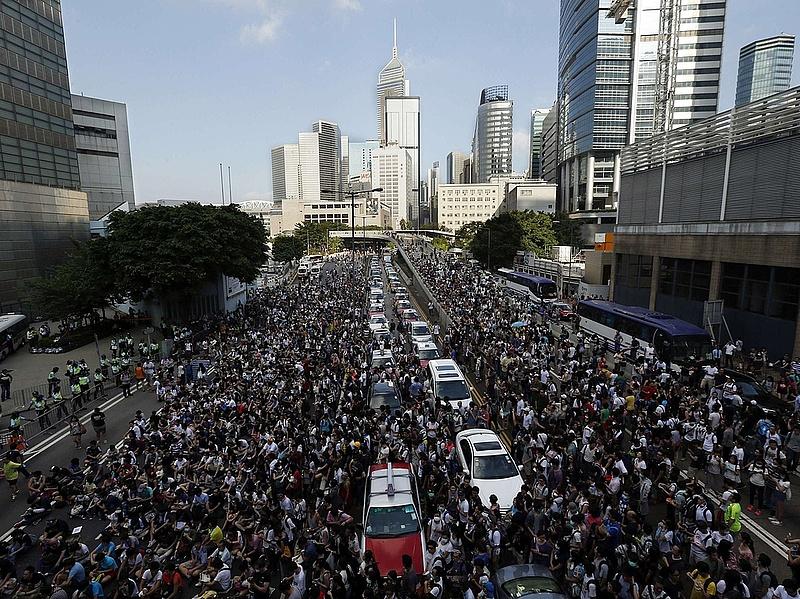 Leminősítették Hongkongot