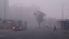 Egyre több városban nem ajánlott levegőt venni
