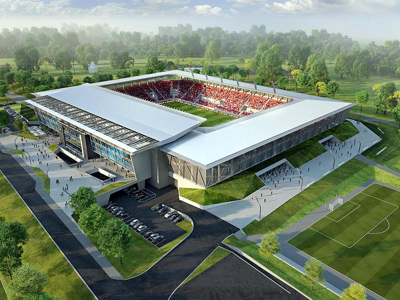 Drágul a fehérvári stadion építése