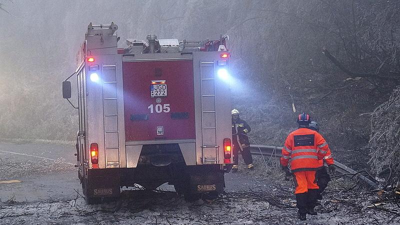 Ezt is megéltük: elzárták a gázt egy tűzoltóságon