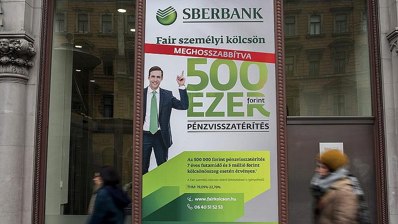 Bezárja 13 magyar fiókját a Sberbank