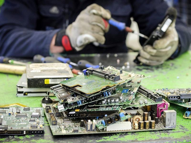 Komoly probléma az EU számára az e-hulladék