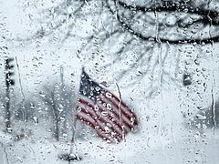Tűzvész után hóvihar tombol az USA-ban