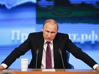 Fenyegető üzenetet küldött Putyin