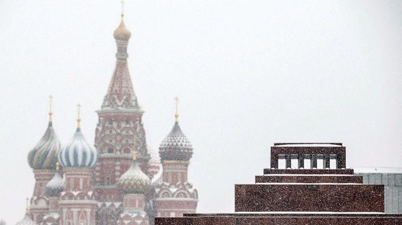 Megállt Moszkva