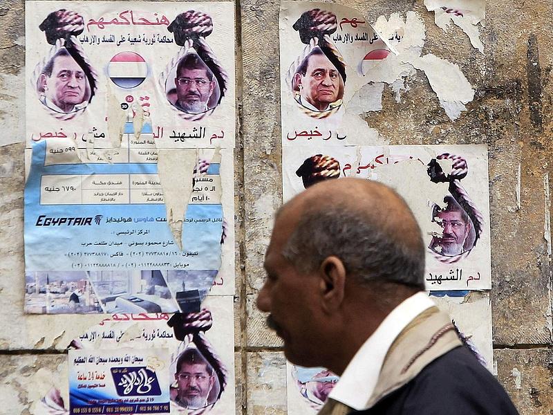 Halálra ítélték Murszit